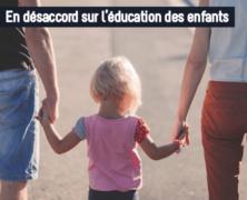 En désaccord sur l'éducation des enfants