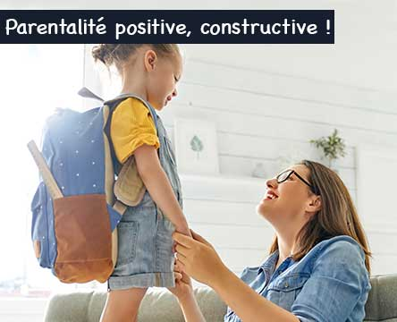Education positive Maman et fille