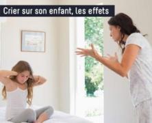 Crier après les enfants peut avoir un impact sur leur santé émotionnelle et physique